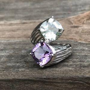 Jewelry - Amethyst and Peridot Ring